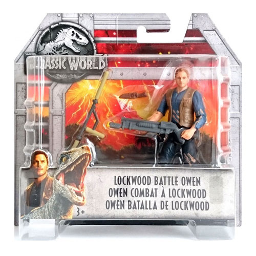 Jurassic World Lockwood Battle Owen