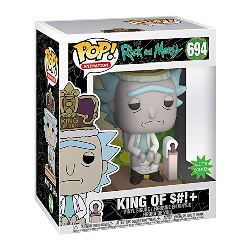 Rick and Morty King of Shit