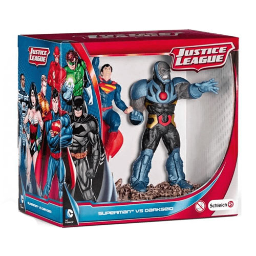 Justice League Superman en Darkseid